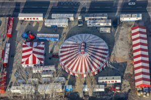 Aerial view from the Circus Arena - Klaus Leidorf Aerial Photography