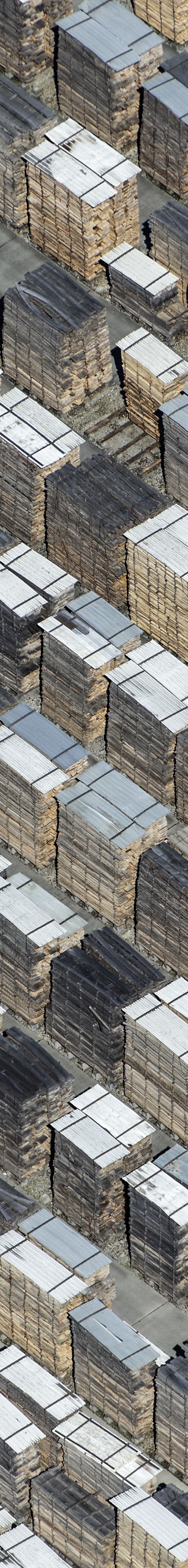 Aerial view of the timber warehouse of the Obermeier company in Schwindegg - Klaus Leidorf Aerial Photography