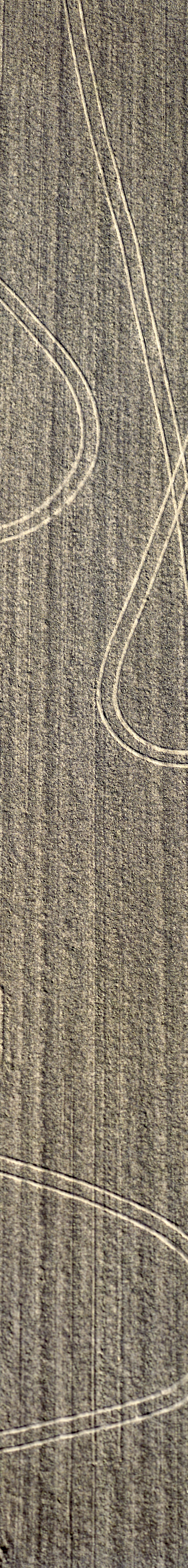 Aerial view of traces in the field - Klaus Leidorf Aerial Photography