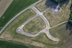 Aerial view of a new development area in Vilsbiburg-Haarbach - Klaus Leidorf Aerial Photography