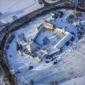 Aerial view of the Blutenburg in Munich-Obermenzing - Klaus Leidorf Aerial Photography