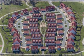 Aerial photograph of the new housing estate Eschenbach-Netzaberg - Klaus Leidorf Aerial Photography