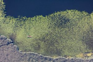 Aerial view of the Seeger See - Klaus Leidorf Aerial Photography