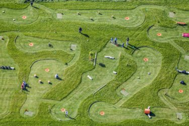 Aerial view of the Soccerpark Willaberg - Klaus Leidorf Aerial Photography