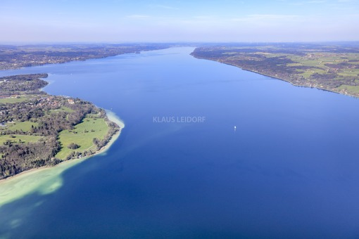 Aerial view of the Starnberger See - Klaus Leidorf Aerial Photography