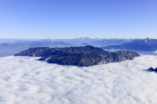 Aerial view of the Untersberg near Bad Reichenhall - Klaus Leidorf Aerial Photography