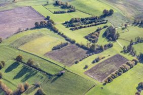 Aerial view of the Ziegelberg in Vilsheim - Klaus Leidorf Aerial Photography