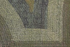Aerial view of a farmers painting - Klaus Leidorf Aerial Photography