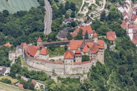 Aerial view of Harburg (Swabia) - Klaus Leidorf Aerial Photography
