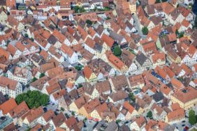 Aerial view of Hersbruck - Klaus Leidorf Aerial Photography
