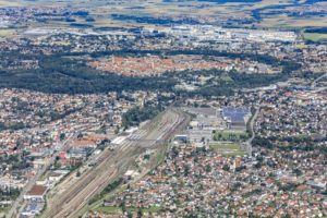 Aerial view of Ingolstadt - Klaus Leidorf Aerial Photography
