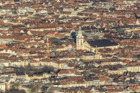 Aerial view of Maxvorstadt and Schwabing in Munich - Klaus Leidorf Aerial Photography