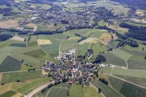 Aerial view of Miesbrunn near Pleystein - Klaus Leidorf Aerial Photography