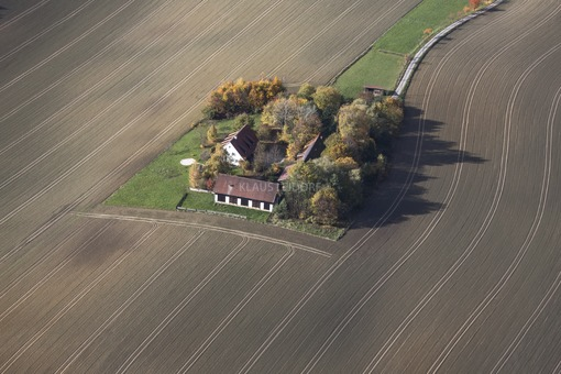 Aerial view of the Einödhof Hubstetten - Klaus Leidorf Aerial Photography