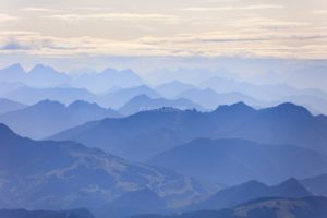 Aerial view of the Alps in Bavaria - Klaus Leidorf Aerial Photography