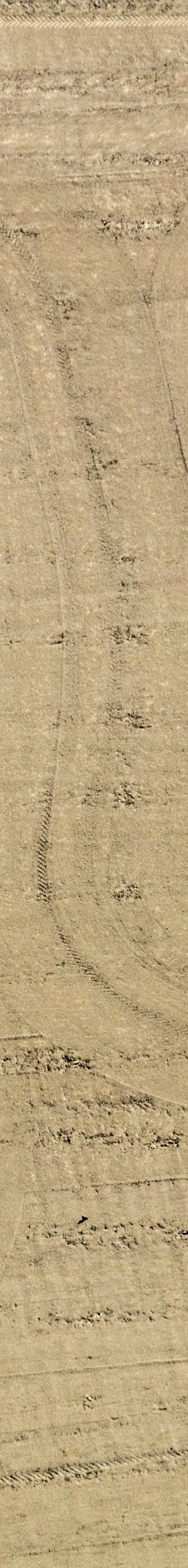 Aerial view of the traces of working the field - Klaus Leidorf Aerial Photography