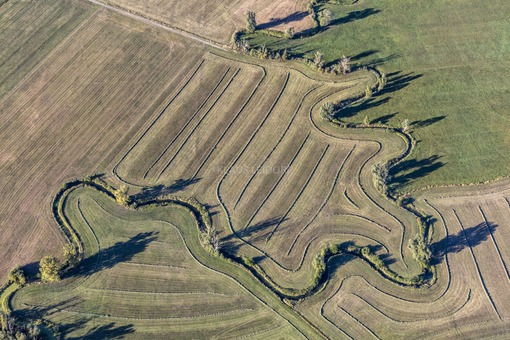 Aerial view of the Altmühl near Colmberg - Klaus Leidorf Aerial Photography