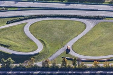 Aerial view of the BMW test track - Klaus Leidorf Aerial Photography