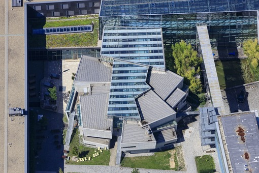 Aerial view of the Technical University Ingolstadt THI - Klaus Leidorf Aerial Photography