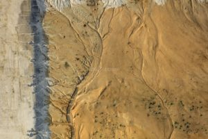 Aerial view of an excavation pit in the Vilsbiburg industrial park - Klaus Leidorf Aerial Photography