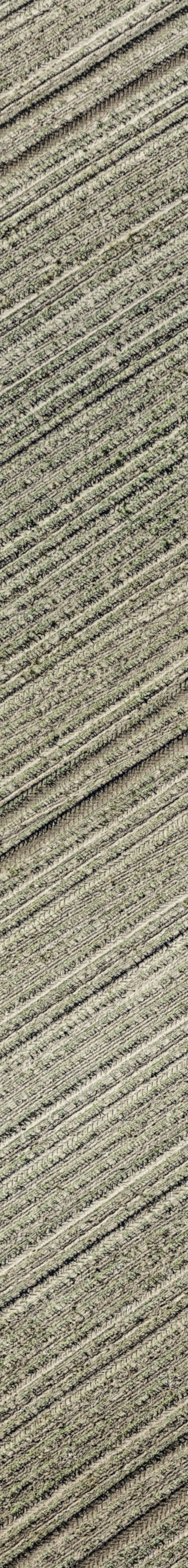 Aerial view of a field chapel in the young maize field near Thaldorf - Klaus Leidorf Aerial Photography
