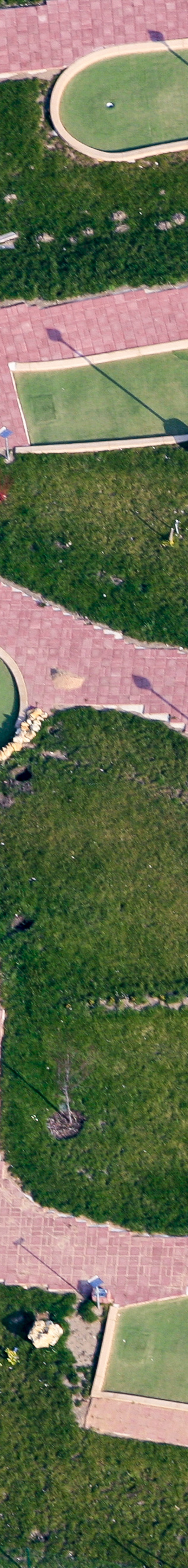 Aerial view of a minigolf course - Klaus Leidorf Aerial Photography