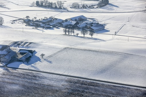 Aerial view of a newly discovered Celtic entrenchment - Klaus Leidorf Aerial Photography