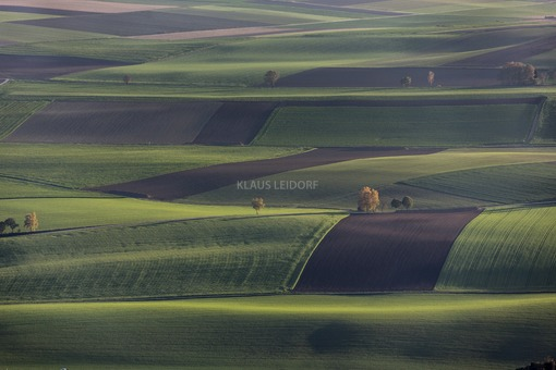 Aerial view of Lower Bavarian agricultural landscape - Klaus Leidorf Aerial Photography